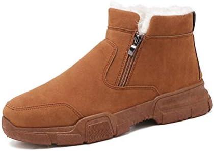 マーティンブーツ 作業ブーツ メンズ ムートンブーツ ファッション 韓国風 スノーブーツ ファー付き 防滑 おしゃれ 軽量 歩きやすい アウトドア 防水 シンプル 痛くない 短靴 ウインターブーツ 冬用 超防寒