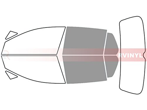 Rtint Window Tint Kit for Volkswagen GTI 2015-2018 (4 Door) - Back Kit - 50%