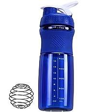 Protein Shaker Blue/White 28oz , 2724677791808