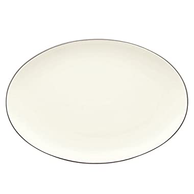 Noritake 16-Inch Colorwave Oval Platter, Clay