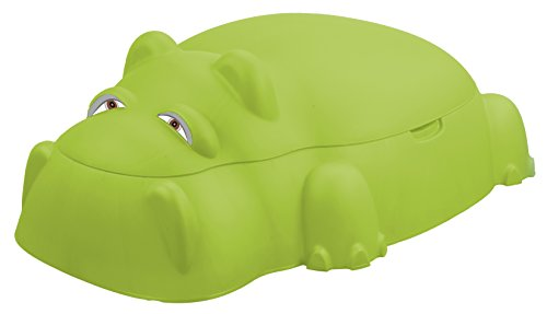 - Starplay Hippo Pool/Sandpit with Cover, Green