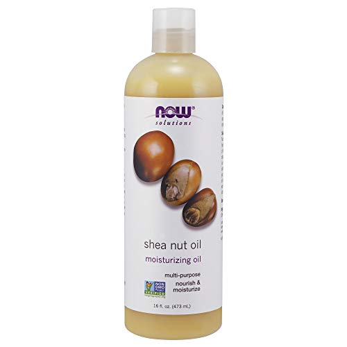Now Solutions, Shea Nut Oil, Multi-Purpose Intense Moisturizing Oil for Skin, Scalp and Hair, 16-Ounce ()