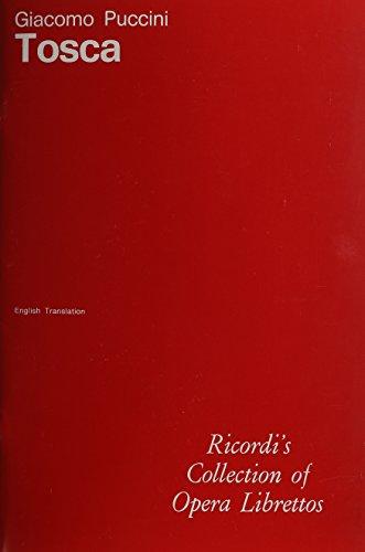 Tosca: Libretto by Ricordi