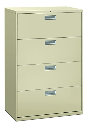 Filing Cabinet - 600 Series Lateral Legal or Letter File Cabinet, 19.75
