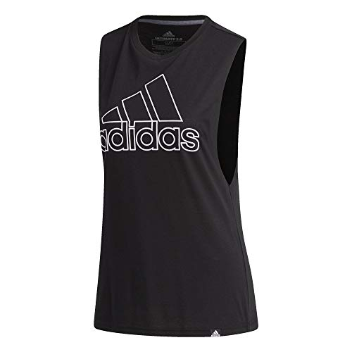 adidas Athletics Badge of Sport Muscle Tank
