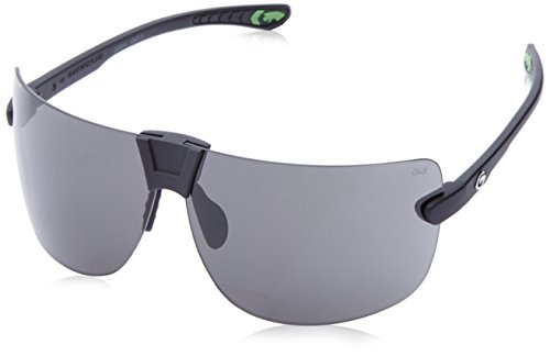 Gargoyles Men's Novus Wrap Sunglasses,Matte Black,71 mm