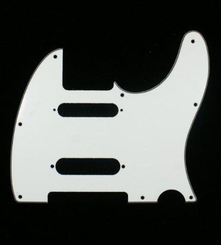 - (A63) Custom Guitar Pickguard For Nashville Tele Style ,3ply White