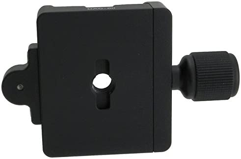 Desmond DAC-60 60mm QR Clamp 3//8 w 1//4 Adapter /& Level Arca-Swiss Compatible for Tripod Head Quick Release