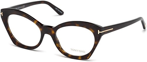 TOM FORD Eyeglasses FT5456 052 Dark Havana