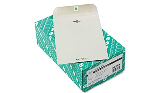 Clasp Envelope Executive Gray Quality Park 6 1/2 x 9 1/2 28 Pounds 100 Box Comfyleads