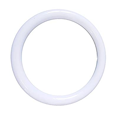 LuLofe Milky LED 12 Inch 18W Tube Replace 32 Watt Circular Fluorescent Tube, 3000K Color With Internal Power Supply