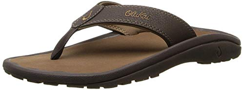 Olukai Men's Ohana Sandals Dark Java/Ray Size 10