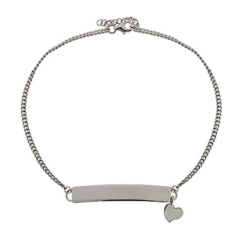 Sterling Silver ID Anklet...