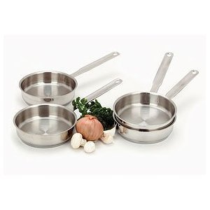Resto By Demeyere Small Saute Pans Set of 4