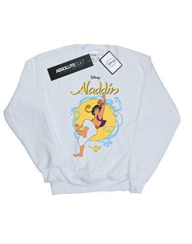 Swing Aladdin Rope Blanc shirt Disney Felpa Homme ZwqgEBOI