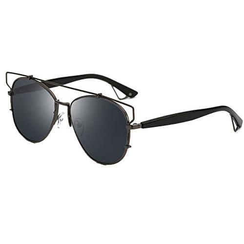 7ac0ea9cf78a Aviator Gafas Moda para Mujer y Hombre - Gafas de Sol Unisex 50% de  descuento