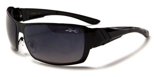 X Loop Mens / Womens / Unisex Athletic Sport Designer Fashion Sunglasses with UV400 Lens - Available in Black / Silver / Bronze - Includes Custom Branded Microfiber Pouch & - Sunglasses Designer Replicas