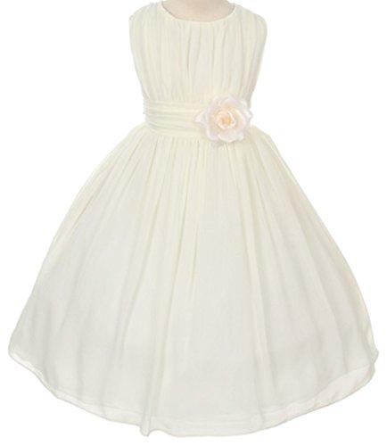 Buy ivory cape dress - 6