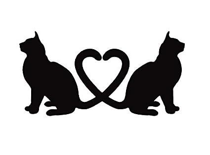 ネコ ねこ キャット 猫 cat neko お座りとハートのコレボレーション! ペット 動物