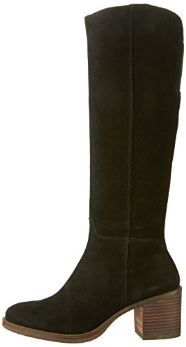 Lucky Brand Women's Ritten Riding Boot,Black,8.5 M US