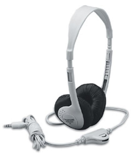 Multimedia Stereo Headphones; 8 Ft. Permanent Cord; Adjustable Headband; no. CAF3060AV by Califone