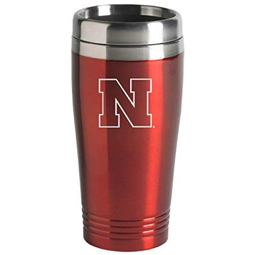 LXG University of Nebraska - 16-ounce Travel Mug Tumbler - Red