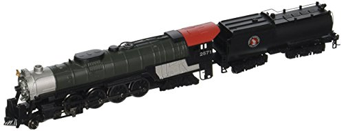 Bachmann Industries Northern 4-8-4 Great Northern Steam Locomotive with Operating Headlight & Vandy Tender (N Scale) ()