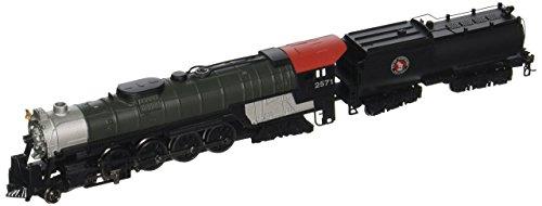 Bachmann Industries Northern 4-8-4 Great Northern Steam Locomotive with Operating Headlight & Vandy Tender (N (N Scale Steam Locomotives)