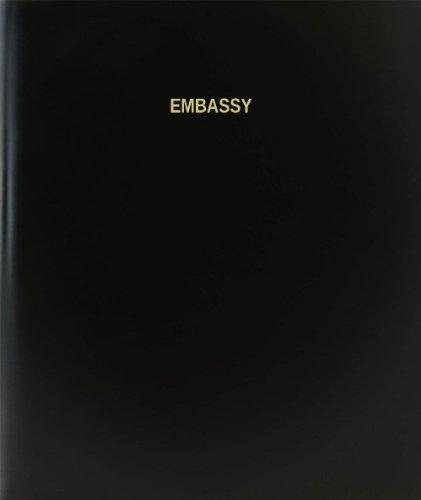 BookFactory® Embassy Log Book / Journal / Logbook - 120 Page, 8.5