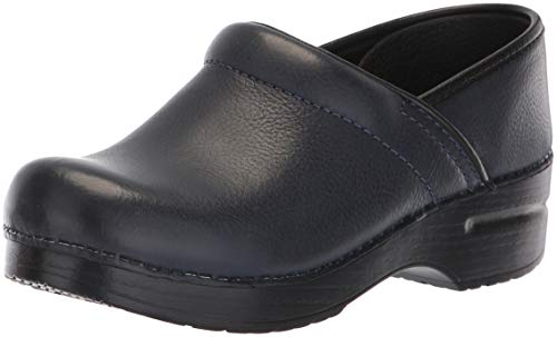 Dansko Women's Professional Mule,navy burnished nubuck,36 EU/5.5-6 M US