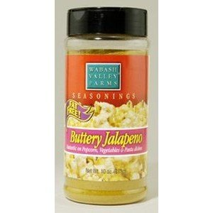 Popcorn Seasonings Buttery Jalapeno, 4.7 oz by Wabash Valley Farms