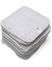 Cheeky Wipes Ręczniki frotte do pielęgnacji niemowląt białe 25 sztuk