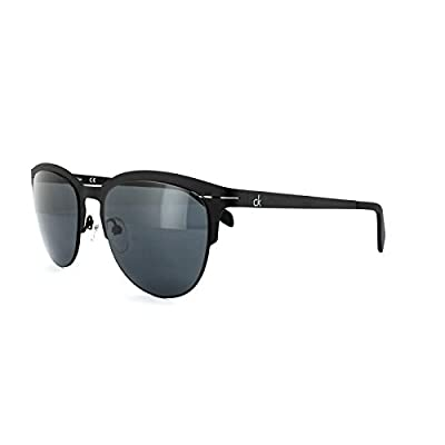 Calvin Klein Sunglasses 2140 001 Black Dark Grey