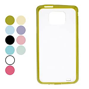 AES - Matte Surface Hard Case for Samsung Galaxy S2 I9100 (Assorted Colors) , Light Blue