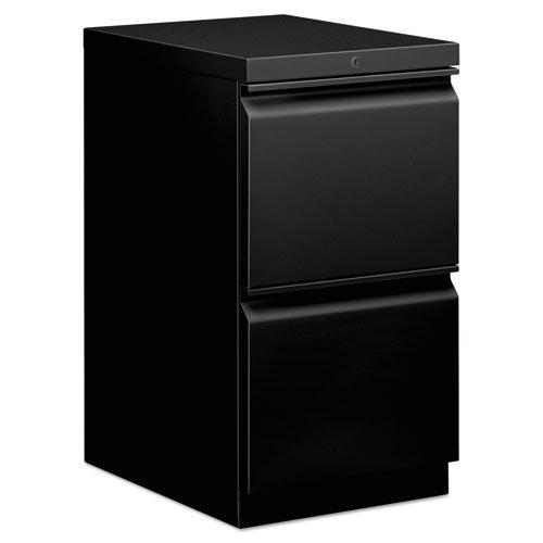 basyx HBMP2FP Mobile Pedestal File, File/File, 15 x 20 x 28, Black (Hon Mobile File Pedestal)