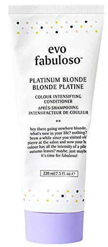 - Evo Fabuloso Colour Intensifying Conditioner Platinum Blonde (220ml)