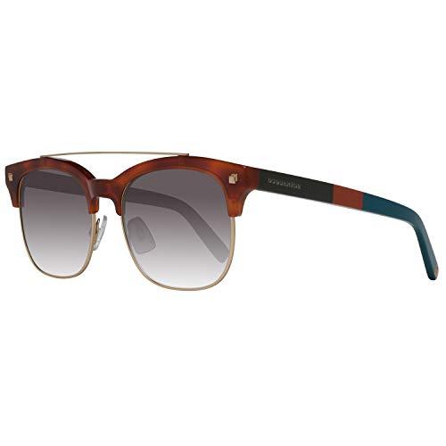DSquared2 DQ0207 Geremy Sunglasses 53 53K Blonde Havana Gradient Roviex (Designer Square Sonnenbrille)