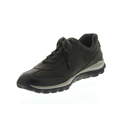 Gabor Shoes Rollingsoft, Zapatos de Cordones Derby para Mujer Gris (30 Anthrazit)