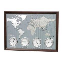 Rhythm Clocks, Around The World II Wall Clock