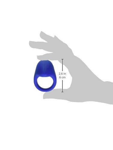 Jopen Jopen Ego E3.5 Silicone Vibrating Cockring Waterproof, Blue