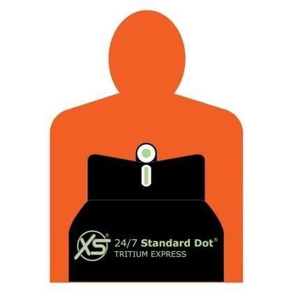 XS Sight Systems RE-0006-6 Dxt Standard Dot - Remington Rifles & Shotguns, 2 Groove Rear Sight Base ()