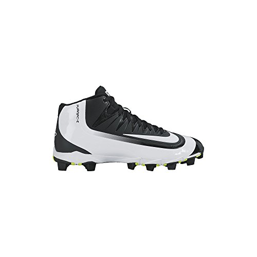 Nike Men's Huarache 2KFilth Keystone Mid Baseball Cleat (6.5 D(M) US, Black/Volt/White)