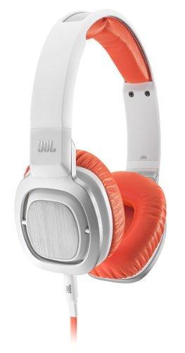 JBL J55 High-Performance On-Ear Headphones with JBL Drivers and Rotatable Ear-Cups - Orange