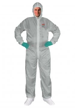 Hhl Paint Suit Large Lt Gray SHOOT SUIT INC