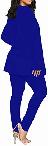 Royal blue pant suits _image2