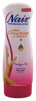 Nair Hair Remover Lotion Cocoa Butter & Vitamin E 255g by Nair