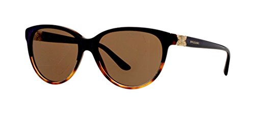 Bvlgari - PARENTESI BV 8166B, Cat Eye, acetate, women, BLUE HAVANA/BROWN(5371/73), - Sale For Brown Havana Cat