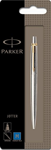 Parker Jotter Stainless Steel Gt Ball Pen (Chrome) Fine Nib - 100% Original, New