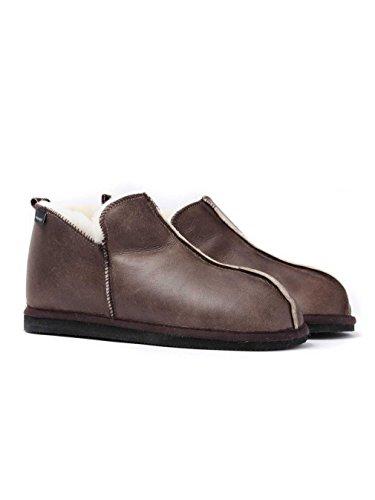 Shepherd Men Anton Low-Top Slippers Brown