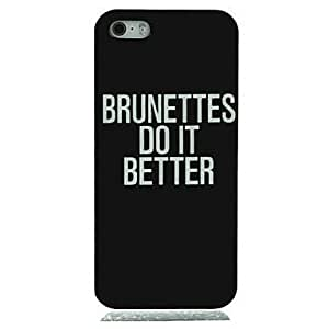 JAJAY Do It Better Pattern Hard Case for iPhone 5/5S
